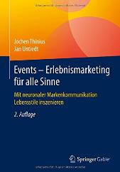 Buch: Events - Erlebnismarketing für alle Sinne