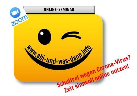 Online-Seminar: Abi und was dann? – Wie recherchiere ich einen Studiengang?