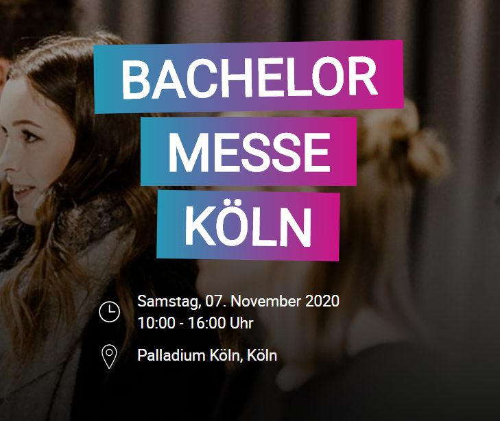 BACHELOR MESSE – Köln 07.11.2020